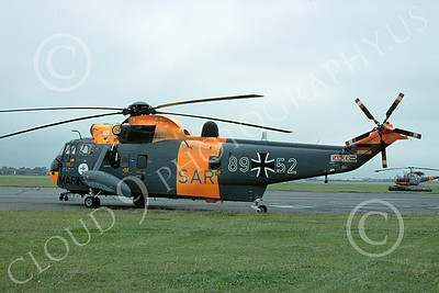 Westland Sea King 00011 A static Westland Sea King German Navy helicopter picture 7-1980 by S W D Wolf