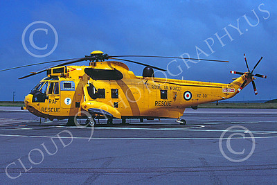 Westland Sea King 00023 A static Westland Sea King British Royal Air Force helicopter picture 6-2003 by Jon Wynn