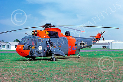 Westland Sea King 00021 A static Westland Sea King German Navy helicopter picture 7-1977 by S W D Wolf