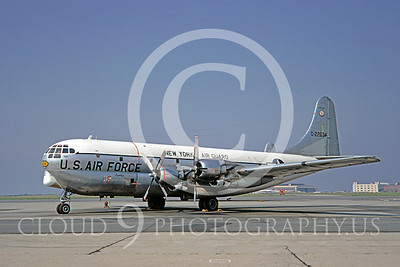 C-97ANG 00003 Boeing C-97 Stratofreighter New York Air National Guard 22634 4 June 1967 by Clay Jansson