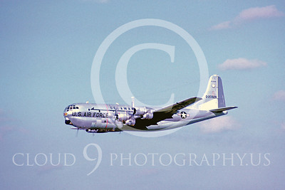 C-97ANG 00002 Boeing C-97G Delaware Air National Guard 20929 142 ATS 166 ATG October 1967 by Richard C Sullivan