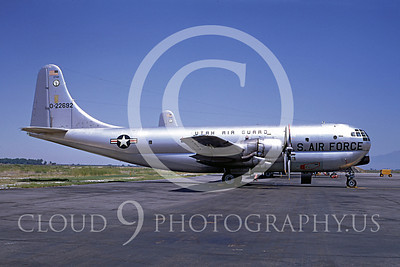 C-97ANG 00001 Boeing C-97G Stratofreighter Utah Air National Guard 22692 Salt Lake City 13 July 1968 by Peter B Lewis