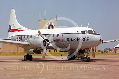 C-131ANG 00021 Convair C-131 Samaritan Texas Air National Guard 37811 Houston by Peter J Mancus