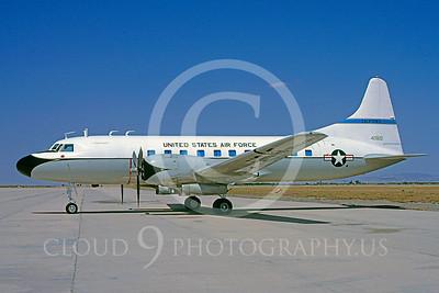 C-131ANG 00017 Convair C-131 Samaritan California Air National Guard 42822 21 May 1983 by Charles E Stewart