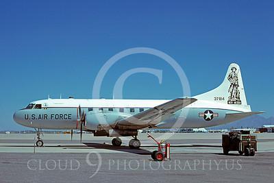 C-131ANG 00013 Convair C-131 Samaritan New Mexico Air National Guard 37814 Davis-Monthan AFB 2 June 1979 by Ben Knowles
