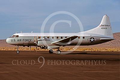 C-131ANG 00015 Convair C-131 Samaritan Nevada Air National Guard 42806 High Rollers Stead September 1987 by Peter B Lewis