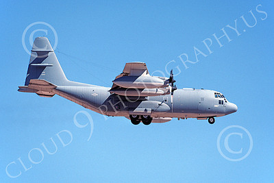 EC-130EANG 00002 A landing Lockheed EC-130E Hercules Pennsylvania ANG 639817 8-1999 military airplane picture by Paul Soderberg