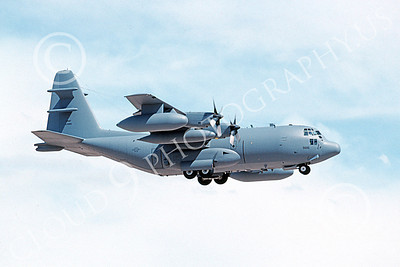 EC-130EANG 00004 A landing Lockheed EC-130E Hercules Pennsylvania ANG 639816 8-2002 military airplane picture by Julian Hill