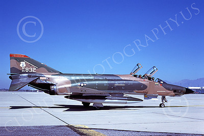 F-4ANG 00131 McDonnell Douglas RF-4C Phantom II Alabama Air National Guard 65832 D-M AFB 24 March 1979 military airplane picture by Ben Knowles, Jr