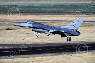 F-16ANG 00156 Lockheed Martin F-16 Fighting Falcon Alabama Air National Guard 87223 by Peter J Mancus