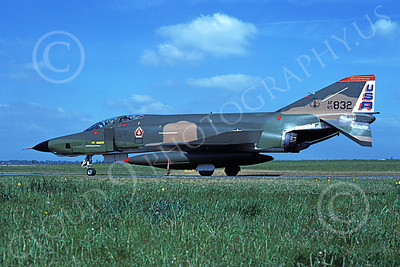 F-4ANG 00193 McDonnell Douglas RF-4C Phantom II Alabama Air National Guard 65832 Best Focus 1980 June 1980 military airplane picture by Udo Weisse