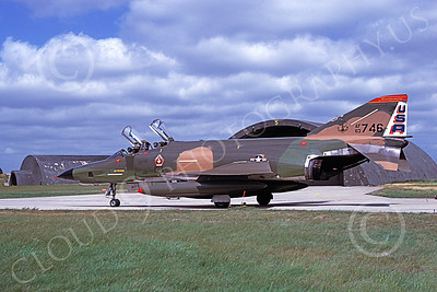 F-4ANG 00127 McDonnell Douglas RF-4C Phantom II Alabama Air National Guard 63746 Best Focus 1980 June 1980 military airplane picture by Udo Weisse