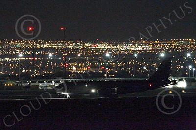KC-135ANG 00061 Boeing KC-135 Stratotanker Nebraska Air National Guard at night by Peter J Mancus