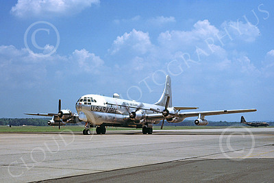 KC-97ANG 00029 A taxing Boeing KC-97L Stratotanker Texas ANG 30283 1-1979 military airplane picture by Michael Grove, Sr