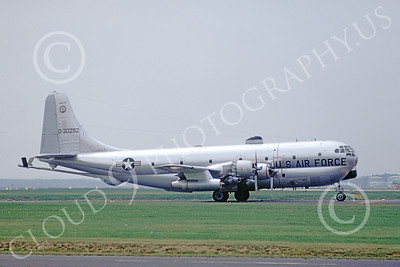 KC-97ANG 00025 A taxing Boeing KC-97L Stratotanker Illinois ANG 7-1974 military airplane picture by Wilfreid Zetsche