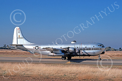 KC-97ANG 00011 A taxing Boeing KC-97L Stratotanker Wisconsin ANG 20903 McClellan AFB 11-1974 military airplane picture by Michale Grove, Sr