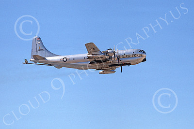 KC-97ANG 00012 A flying Boeing KC-97L Stratotanker Wisconsin ANG 20903 11-1974 military airplane picture by Michale Grove, Sr