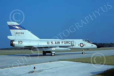 F-106AANG 00107 A taxing Convair F-106A Delta Dart California ANG 80776 125th FW 159th FS FANG Tyndall AFB 11-1984 military airplane picture by H J van Broekhulzen
