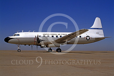 C-131ANG 00005 Convair C-131 Samaritan California Air National Guard 42822 by Carl E Porter