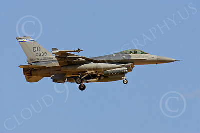 F-16ANG 00170 Lockheed Martin F-16 Fighting Falcon Colorado Air National Guard 86339 by Peter J Mancus
