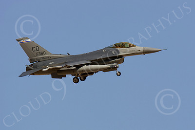 F-16ANG 00120 Lockheed Martin F-16 Fighting Falcon Colorado Air National Guard 86360 by Peter J Mancus