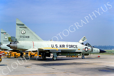 F-102ANG 00009 Convair F-102A Delta Dagger Wisconsin ANG 53418 13 July 1968 by Peter B Lewis