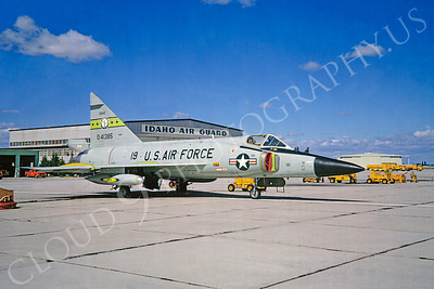 F-102ANG 00015 Convair F-102A Delta Dagger Idaho ANG 41385 June 1973 by Clive Moggoridge