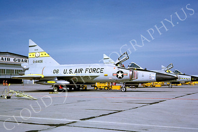 F-102ANG 00003 Convair F-102A Delta Dagger Idaho ANG 41406 May 1967 by Bob Burgess