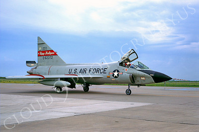 F-102ANG 00007 Convair TF-102A Delta Dagger North Dakota ANG Happy Holligans 62372 15 September 1968 by Peter B Lewis