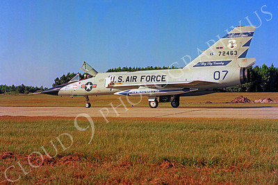 F-106ANG 00013 Convair F-106A Delta Dart Montana Air National Guard 72463 Tyndall AFB by Peter J Mancus