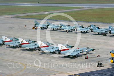 F-106ANG 00007 Convair F-106 Delta Dart California ANG Tyndall 1980 by Peter J Mancus