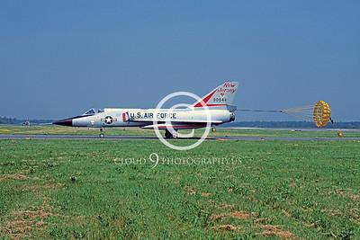 CHUTE 00058 ConvairF-106A Delta Dart NJANG June 1981 by Peter J Mancus