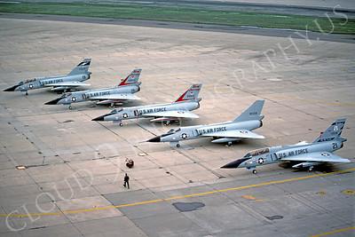 F-106ANG 00009 Convair F-106A Delta Dart USAF 72530 Montana Air National Guard January 1986 by Peter B Lewis