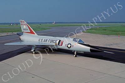 F-106ANG 00011 Convair F-106A Delta Dart New Jersey Air National Guard 90034 with gun Atlantic City June 1987 by Peter J Mancus