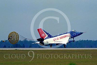 CHUTE 00150 Convair F-106 Delta Dart Florida Air National Guard by Peter J Mancus