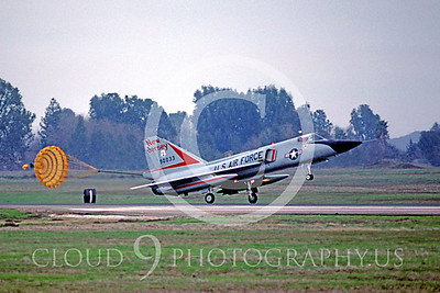 CHUTE 00037 Convair F-106A Delta Dart New Jersey ANG Jan 1986 by Peter B Lewis