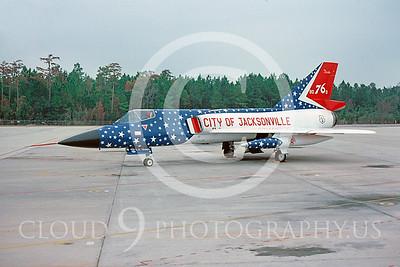 BICEN-F-106 00009 Convair F-106A Florida ANG October 1976 by Peter J Mancus