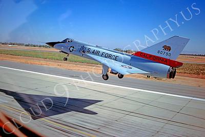 F-106ANG 00006 Convair F-106A Delta Dart California Air National Guard 80790 October 1981 by Peter J Mancus