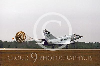 CHUTE 00035 Convair F-106A Delta Dart FANG Sept 1976 by Peter J Mancus