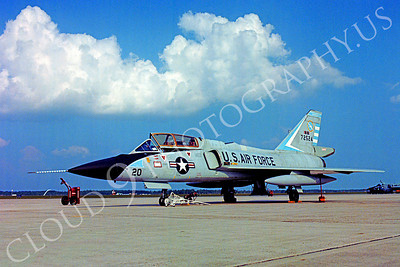F-106BANG 00015 Convair F-106B Delta Dart Massachusetts Air National Guard 72524 Tyndall AFB  October 1978 by Peter J Mancus