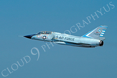F-106BANG 00006 Convair F-106B Delta Dart Massachusetts Air National Guard 72524 Tyndall AFB  September 1976 by Peter J Mancus