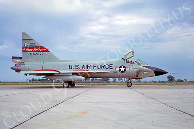 F-102ANG 00033 Convair TF-102A Delta Dagger North Dakota ANG 62372 Happy Holligans September 1968 by Peter B Lewis