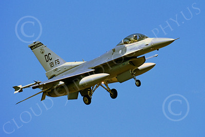 F-16ANG 00158 Lockheed Martin F-16 Fighting Falcon District of Columbia Air National Guard 85422 121st Fighter Sqd by Peter J Mancus
