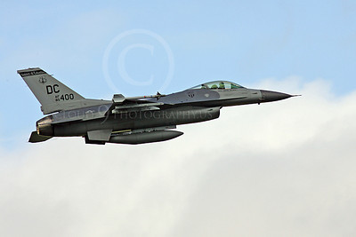 F-16ANG 00074 Lockheed Martin F-16 Fighting Falcon District of Columbia Air National Guard 85400 by Paul Ridgway