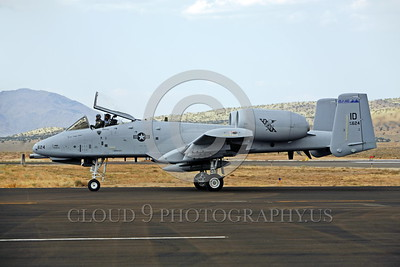 A-10ANG-ID 0005 A taxing Fairchild A-10 Thunderbolt II Idaho Air National Guard 78624 Stead military airplane picture by Peter J Mancus