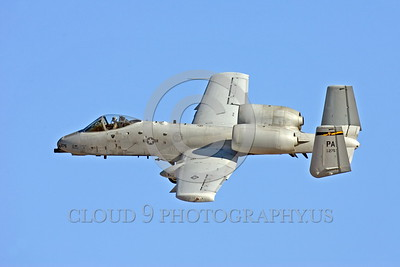 A-10ANG-PA 0008 A flying Fairchild A-10 Thunderbolt II Pennsylvania Air National Guard 80275 PA code military airplane picture by Peter J Mancus