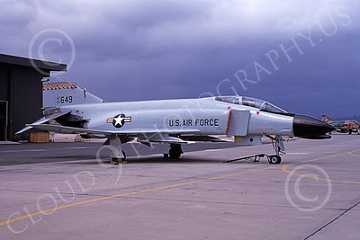 F-4ANG 00171 McDonnell Douglas F-4C Phantom II Hawaii Air National Guard 63649 military airplane picture by Michael Grove, Sr