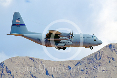 C-130ANG 00014 Lockheed C-130 Hercules Illinois Air National Guard 37818 September 2000 Nellis AFB by Peter J Mancus