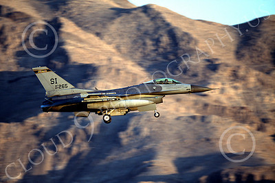 F-16ANG 00038 Lockheed Martin F-16 Fighting Falcon Illinois Air National Guard 87265 Nellis AFB by Peter J Mancus