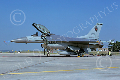 F-16ANG 00043 Lockheed Martin F-16 Fighting Falcon Iowa Air National Guard 89051 via African Aviation Slide Service